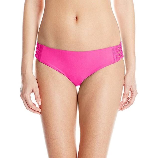 Body Glove Women's Smoothies Ruby Solid Bikini Bottom SZ XS