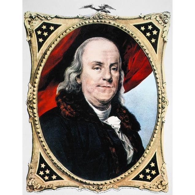 Benjamin Franklin /N(1706-1790). /Namerican Printer, Publisher, Scientist,