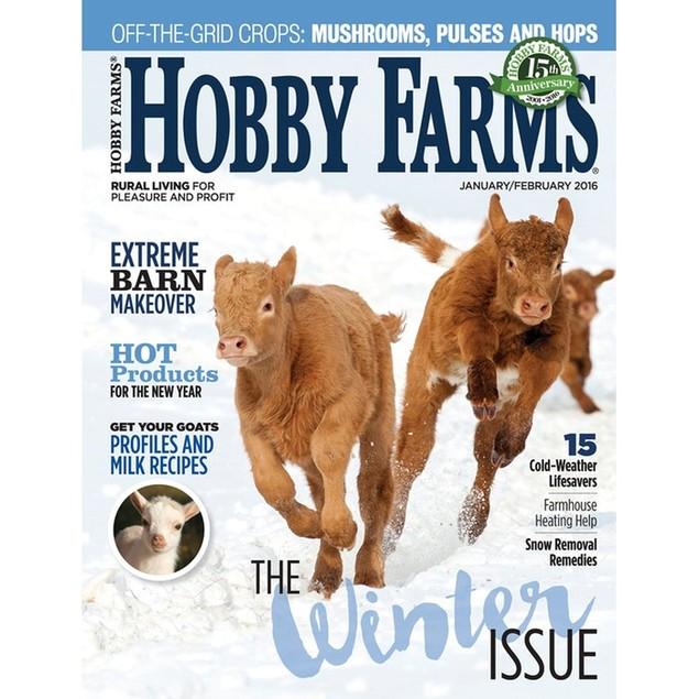 Hobby Farms Magazine Subscription