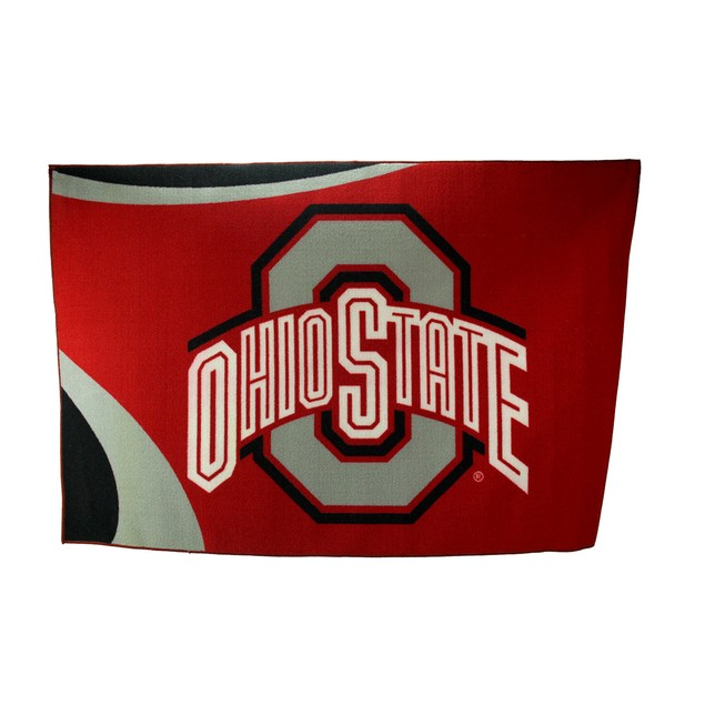 Ohio State University Buckeyes 39 By 59 Inch Area Rugs