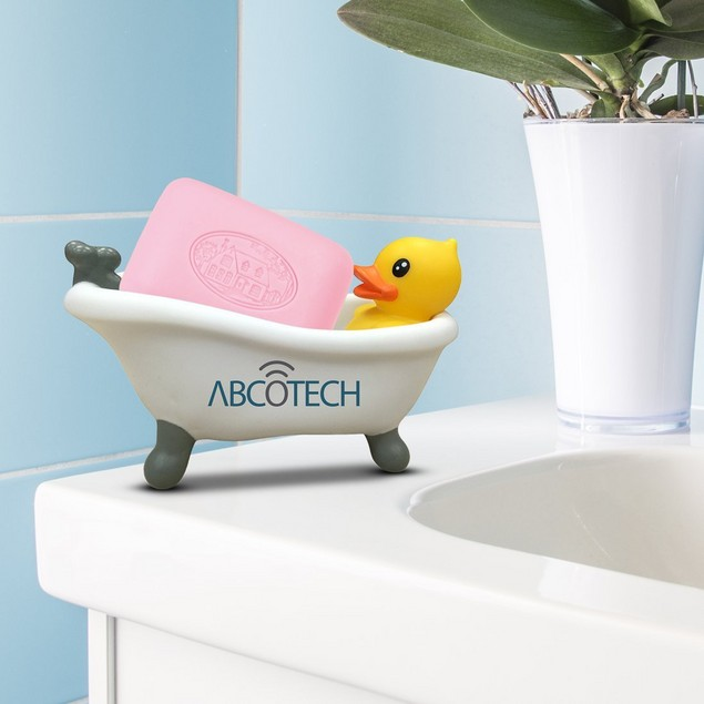 Abco Tech Duck Soap Dish - For Bathroom or Kitchen