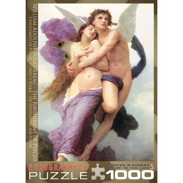 Ravishment of Psyche 1000 Piece Puzzle, 1,000 Piece Puzzles by Eurographics