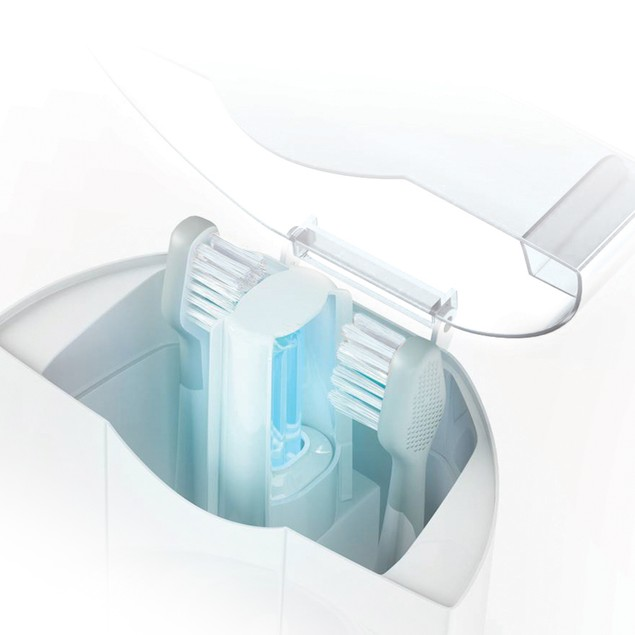 Elite Sonic Toothbrush with UV Sanitizing Charging Base - Platinum Edition