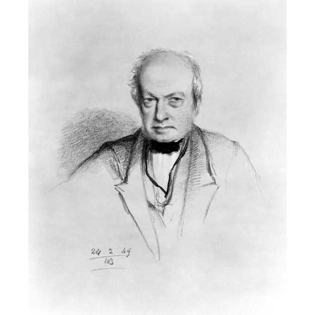 Robert Brown (1773-1858). /Nscottish Botanist. Pencil Drawing, 1849, By Wil
