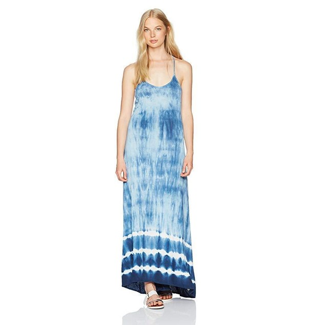Billabong Women's Shore Side Maxi Dress, Cobalt, SZ M