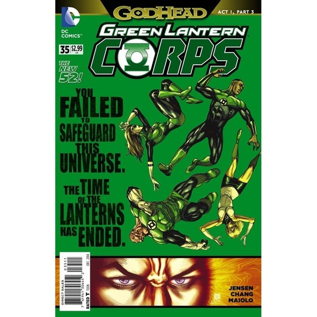Green Lantern Corps Magazine Subscription