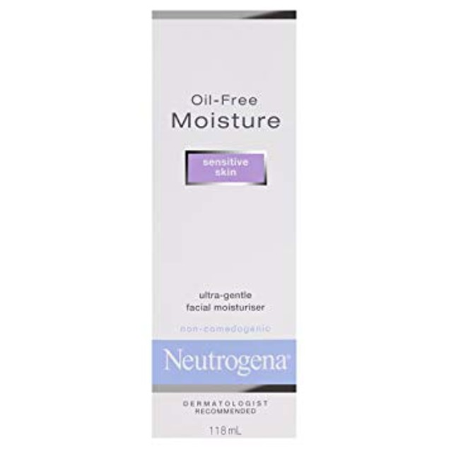 Neutrogena Oil-Facial Moisturizer for Sensitive Skin