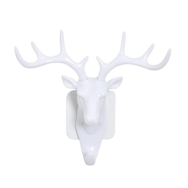Deer Head Self Adhesive Wall Hook
