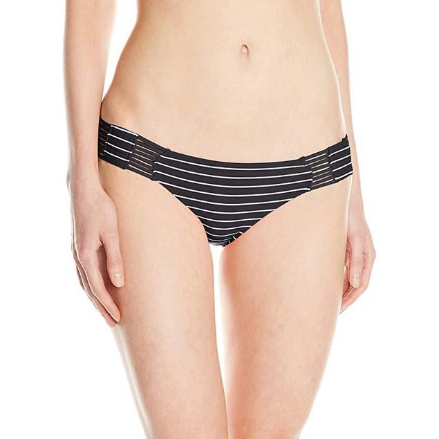 Rip Curl Women's Tropic Wind Luxe Bikini Bottom, Black, X-Large