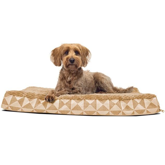 Plush Top Kilim Deluxe Orthopedic Pet Bed