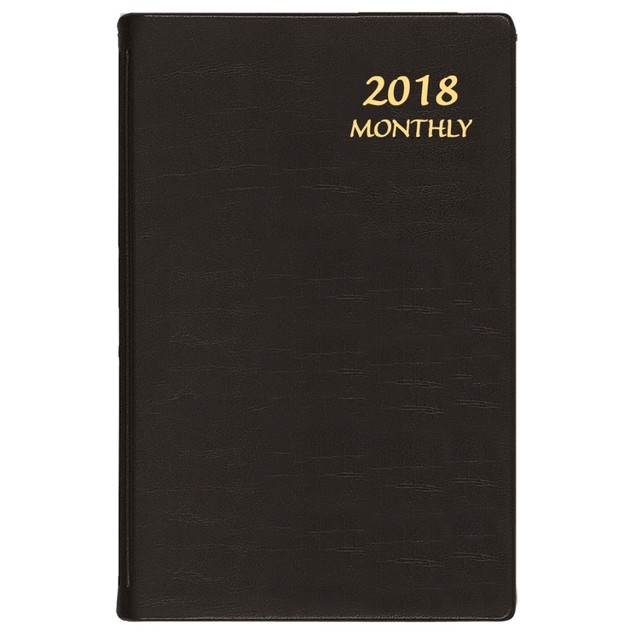 Continental Medium Softcover Monthly Planner, Office Organizer by Calendars