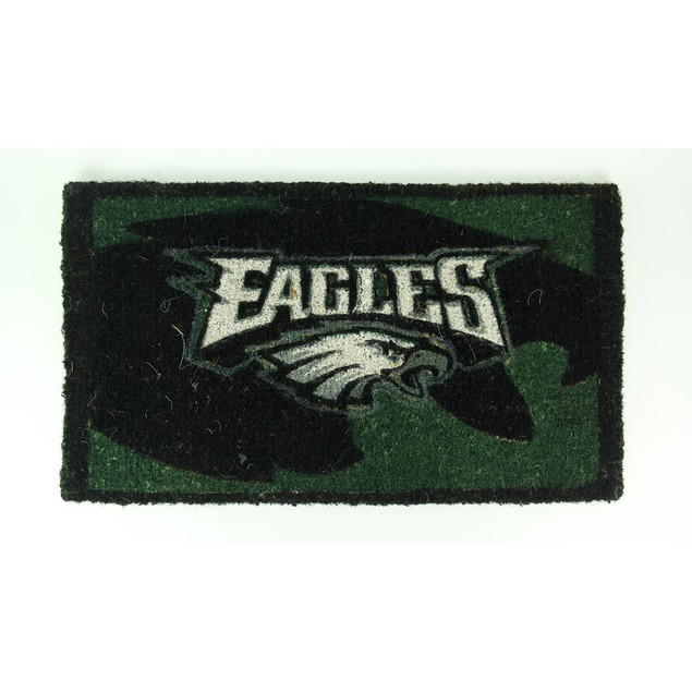 Philadelphia Eagles Coconut Fiber Doormat 30 X 17 Doormats