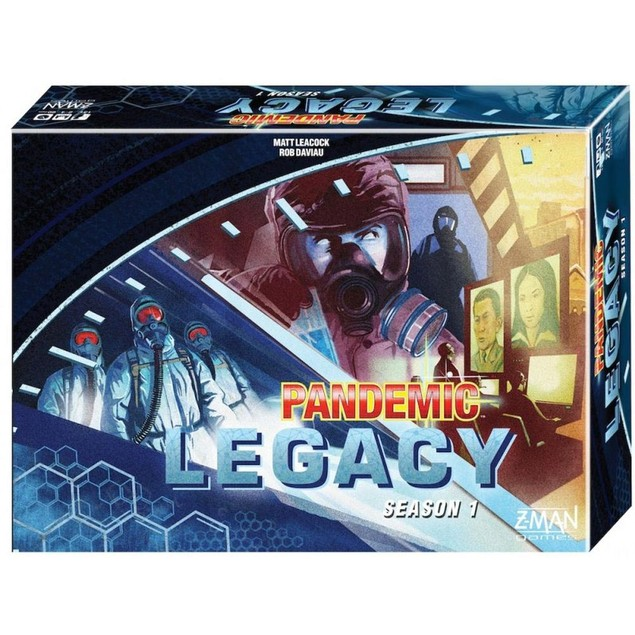 Pandemic Legacy Blue Board Game, More Games by Alliance Game Distributors