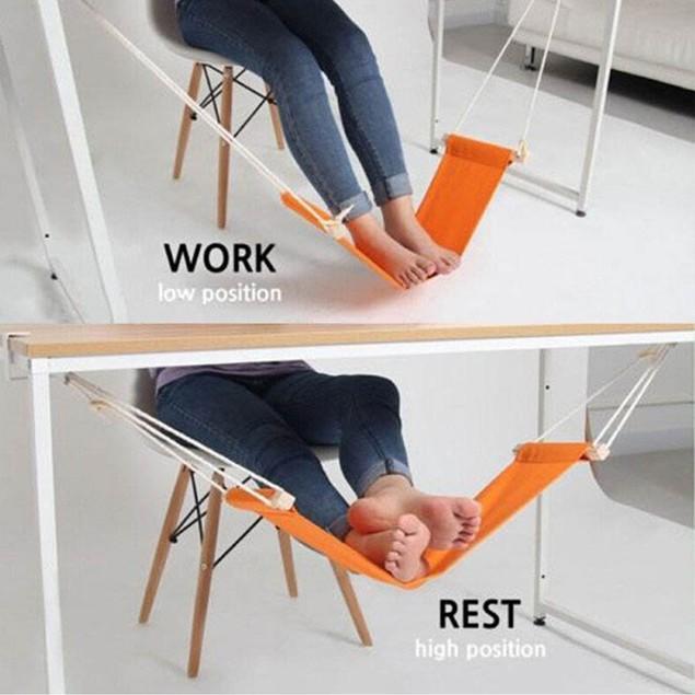 Foot Rest Desk Hammock