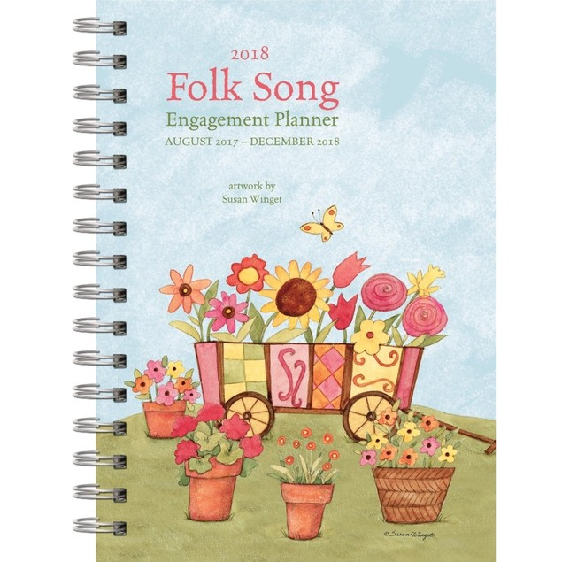 The LANG Companies WSBL Folk Song 2018 Engagement Planner (18997005088)