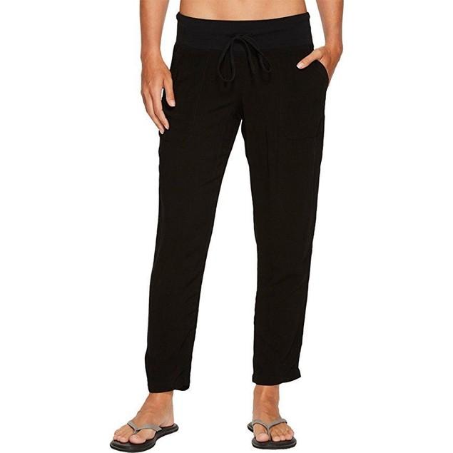 Hard Tail Women's Crop Pants Black Pants SZ L