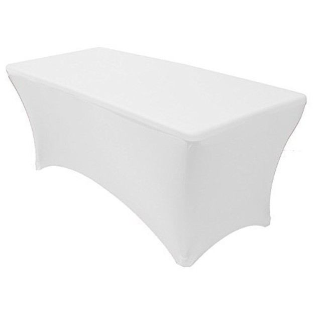 Stretch Fabric Spandex Tight Fit Table Cloth Cover for Hoildays