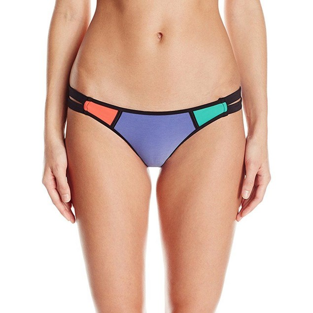 Body Glove Women's Borderline Bali Bikini Bottom SZ:  L