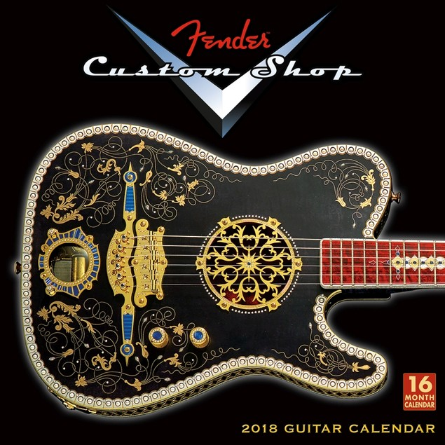 Fender Guitar Wall Calendar, Guitars by Calendars