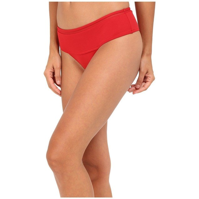 La Perla Kosmos High Waisted Bottom Red Women's Swimwear US SZ 6