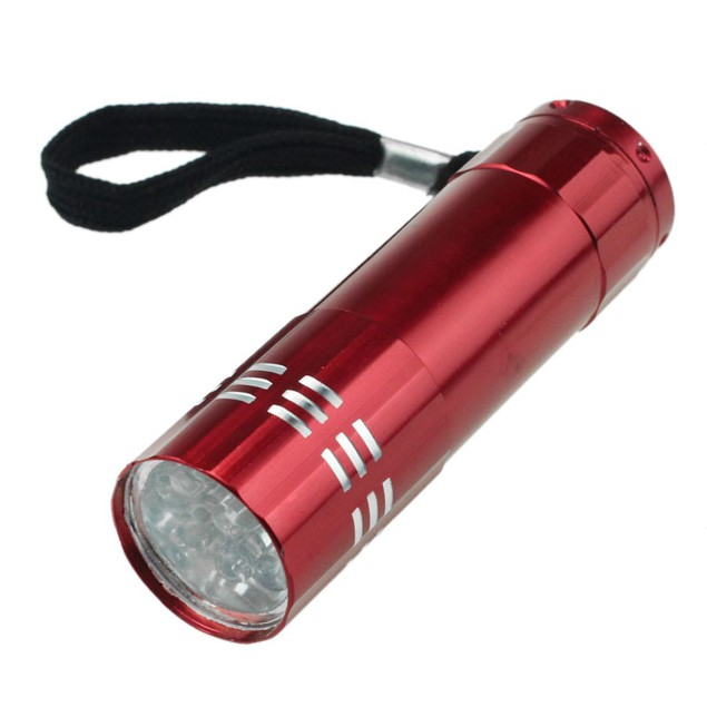 Nine Small Light LED Waterproof Flashlight  Light Lamp
