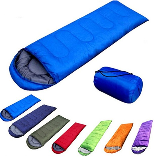 Ultra Light Envelope Single Warm Sleeping Bag with Storage ...