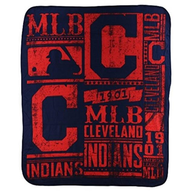 Cleveland Indians MLB Northwest Fleece Throw