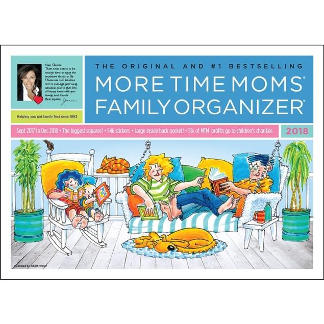 Family Organizer Wall Calendar, Family Organizer by More Time Moms