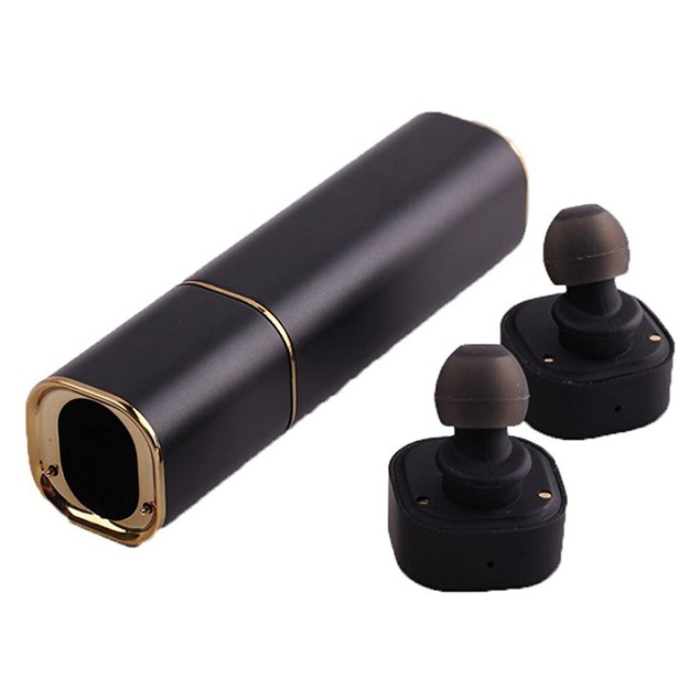 2-in-1 True Wireless Earbuds with Portable Power Bank Charger