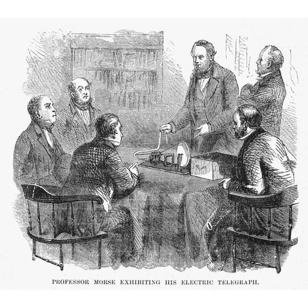 Samuel Morse (1791-1872). /Namerican Artist And Inventor. Professor Morse D