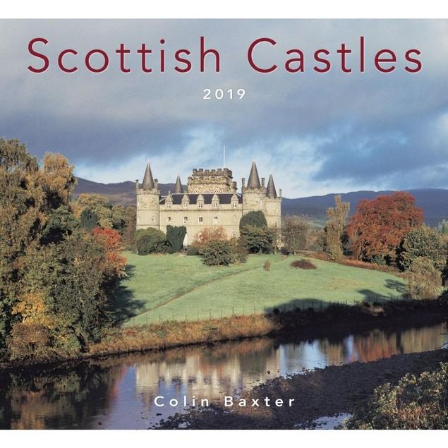 Scottish Castles Wall Calendar, Scotland by Colin Baxter Photography