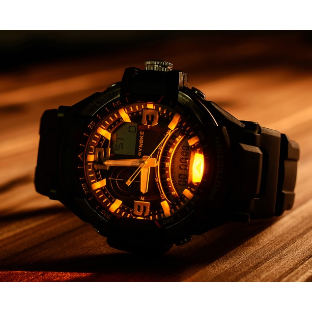 Military Digital LED Quartz Sports Wrist Watch Waterproof