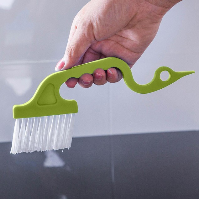 1pcs Window Groove Gap Track Cleaning Brushes Super Comfortable