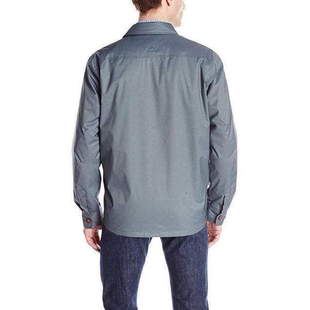 prAna Men's Hardwin Shirt Jacket, Blue Jean, XX-Large