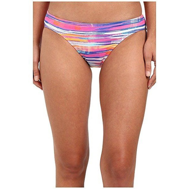 LAUREN Ralph Lauren Women's Summer Tie-Dye Print Hipster w/ Logo Plate