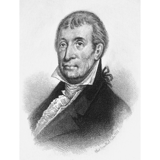 Luther Martin (1748?-1826). /Namerican Lawyer. Etching, 1888, By Albert Ros