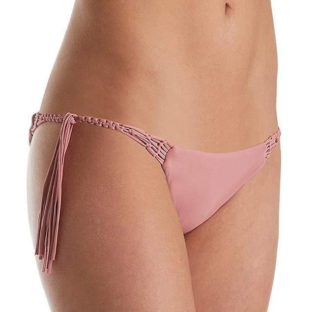 O'Neill Women's Malibu Solids Tie Side Bottoms Mesa Rose Swimsuit Bott