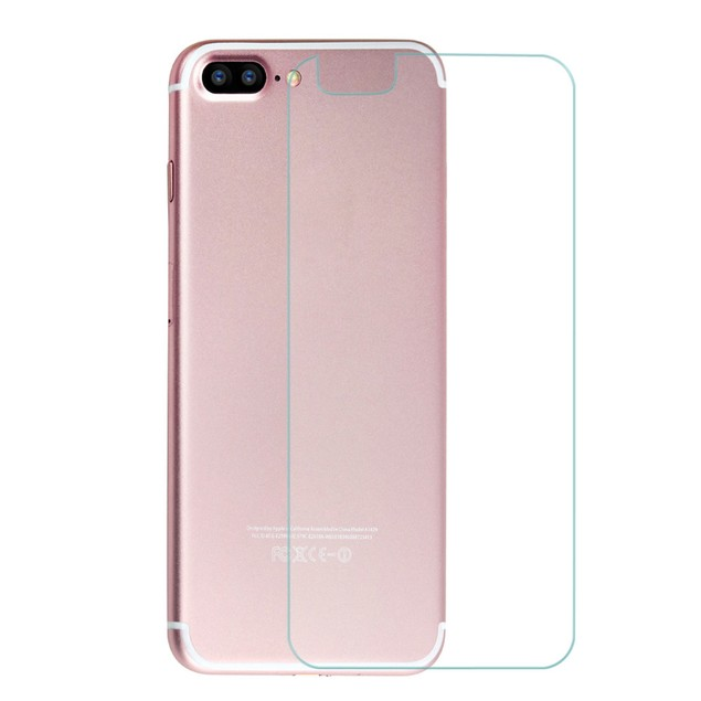 9H Tempered Glass Film Back Protector for iPhone 7 Plus 5.5 inch