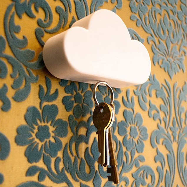 Cloud Shaped Magnetic Key Holder