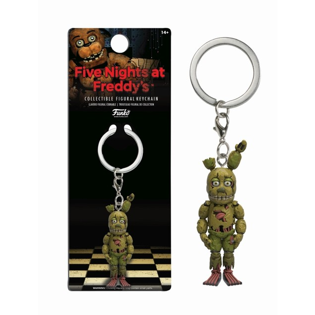 Springtrap Keychain, Gamers by Funko