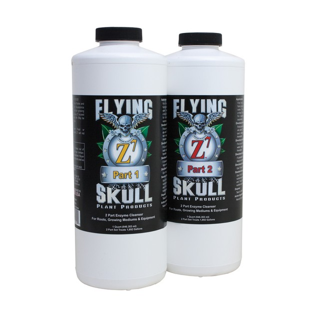 Flying Skull Z7 Enzyme Cleanser, 1 qt (part 1 & 2)