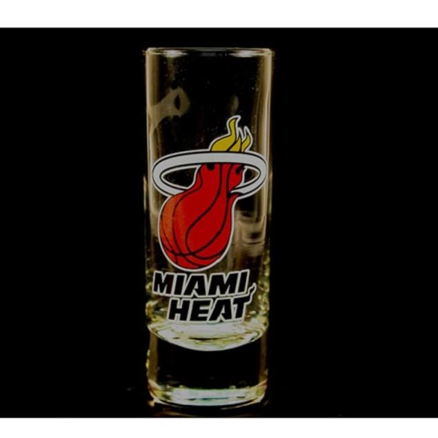 "Miami Heat NBA ""Hype"" Tall Shot Glass"