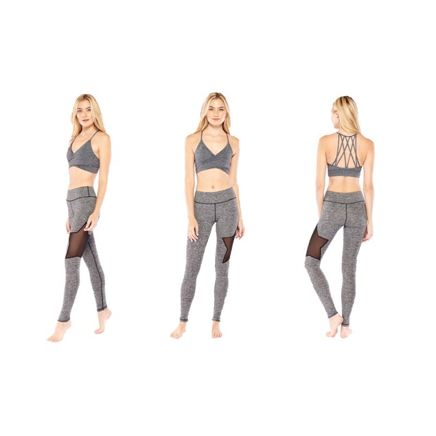 Electric Yoga Star Legging and Bra Set- 2 Styles
