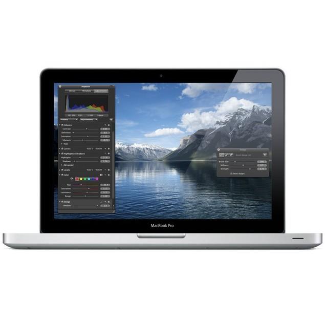 "Apple 13.3"" MacBook Pro MC374LL/A (Intel 2.4 GHz 4GB RAM 250GB HDD) Grade C"