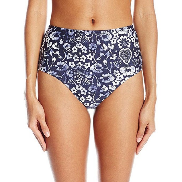 O'Neill Women's Retro Americana High Waist Bikini Bottom SZ XL