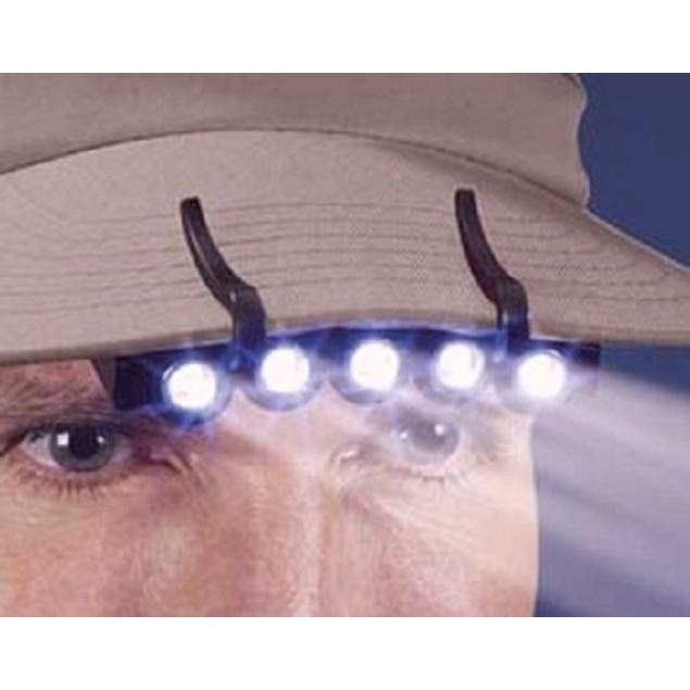 Under Brim LED Hat Light