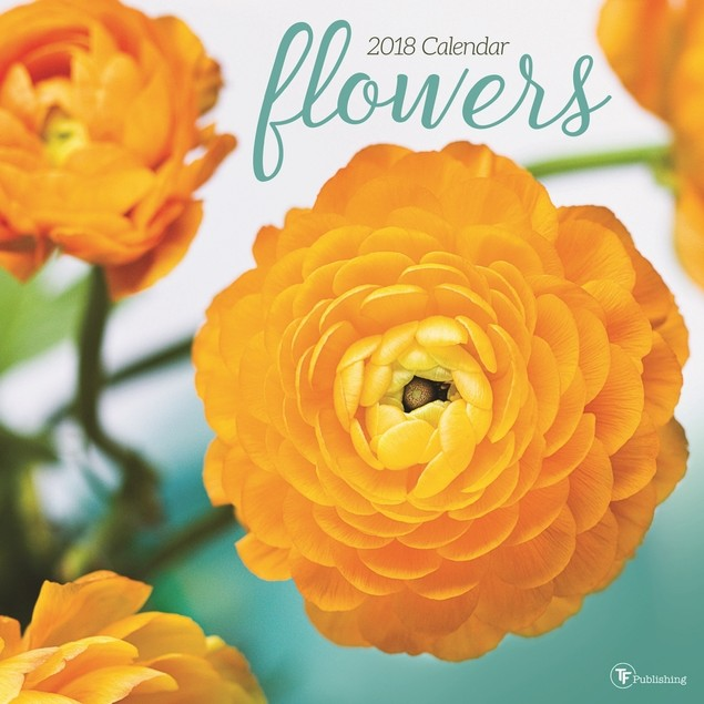 Flowers Wall Calendar, Nature by Avalanche Publishing