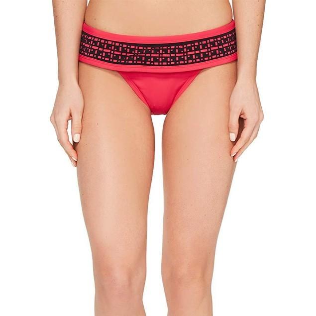 Lole Women's Anafi Bottoms Tropical Rose Swimsuit Bottoms Sz L