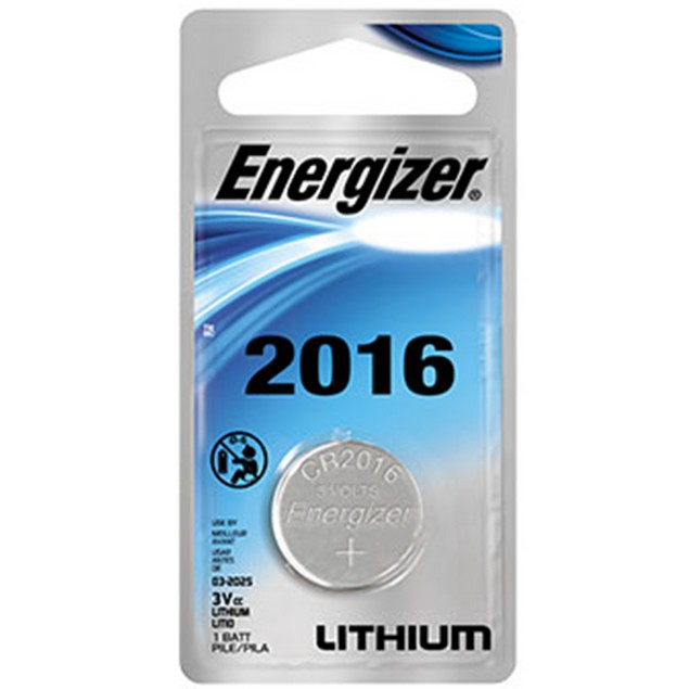 Energizer CR2016 Lithium Coin Cell Battery (1 Battery)