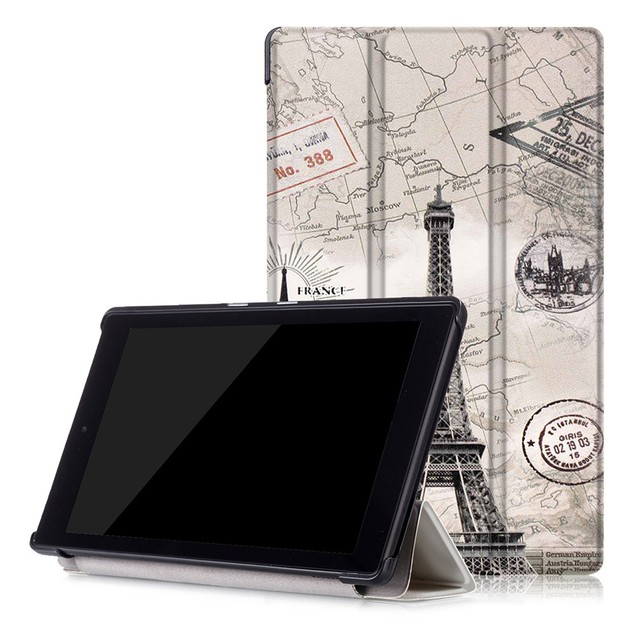 Shell Case Cover For Amazon Kindle Fire HD 8 Inch Tablet